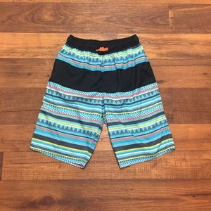 Pre-Owned Cat and Jack swim short for boys size XL